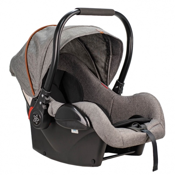 Bebe Stars Κάθισμα Αυτοκινήτου Baby Plus Grey 007-188