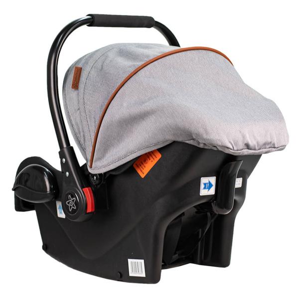 Bebe Stars Car seat Baby Plus Moon Grey 008-189