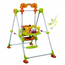 Bebe Stars Baby Swing Cow Green 021-174