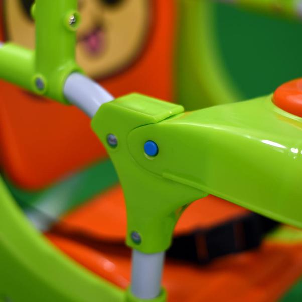 Bebe Stars Παιδική Κούνια Cow Green 021-174
