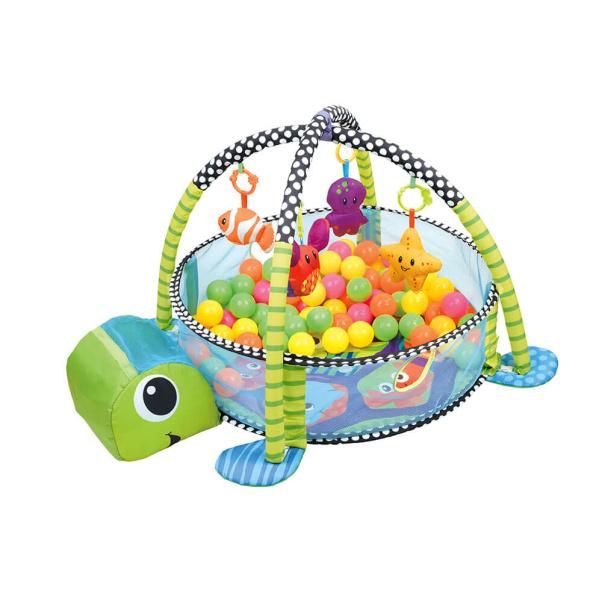 Bebe Stars Εκπαιδευτικό γυμναστήριο – Πάρκο δραστηριοτήτων Turtle 100-160