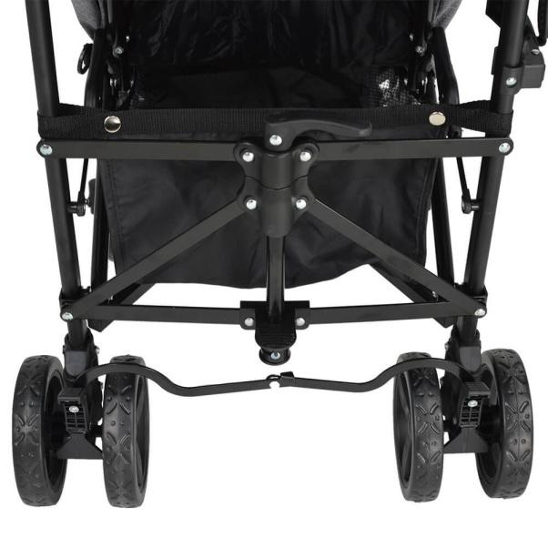 Bebe Stars Baby Stroller Adam Petrol 186-184