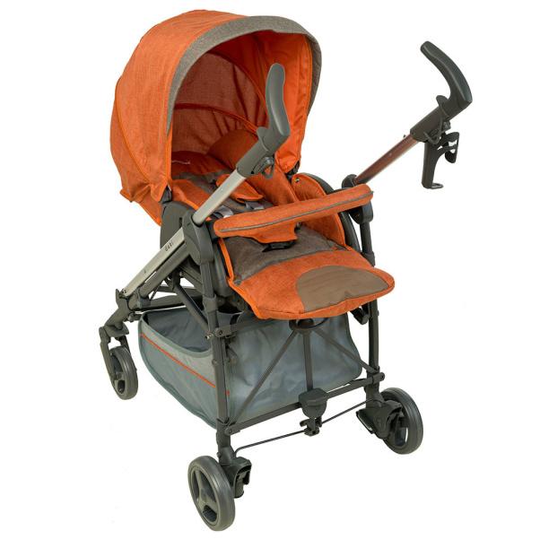Bebe Stars Aluminum Baby Stroller Gabi Brown 320-182