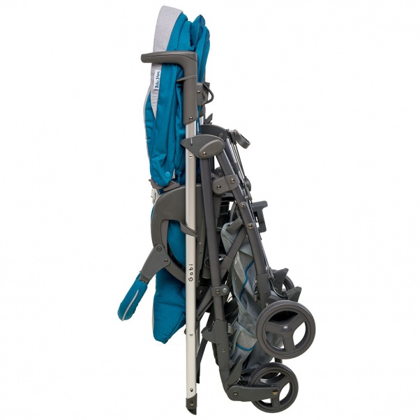 Bebe Stars Aluminium Baby Stroller Gabi Cyan 320-184