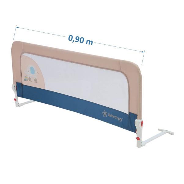Bebe Stars Bed Rail 90cm Blue 722-181