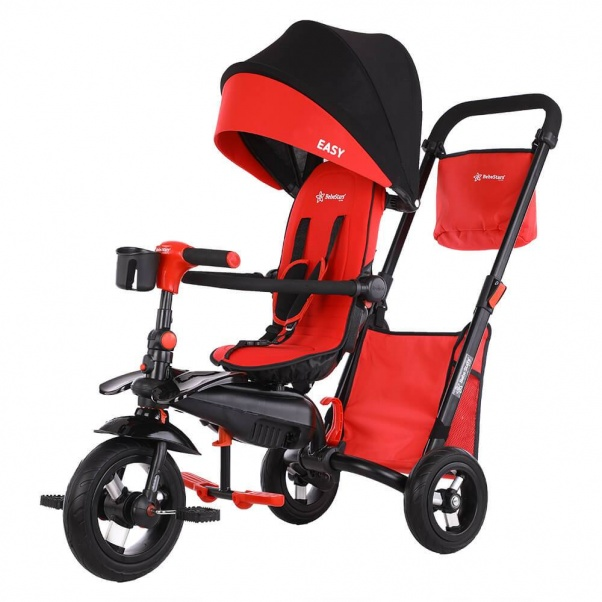 Bebe Stars Tricycle Easy Magic Red 360° 810-180