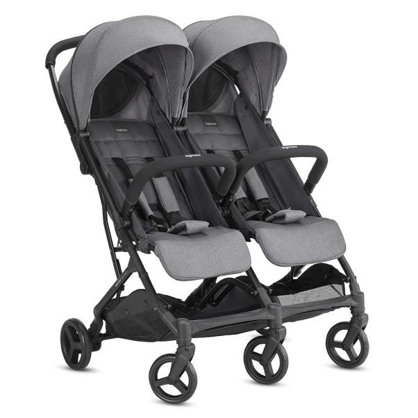 Inglesina Sketch Twin Stroller - Grey