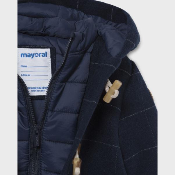 Mayoral Παλτό τύπου μοντγκόμερι baby αγόρι 02421-53