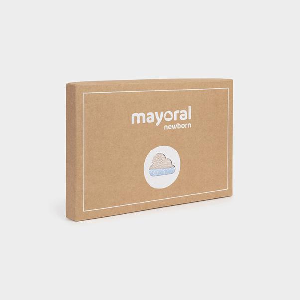 Σετ 2 φορμάκια μακό & σαλιάρα Mayoral 2680-10