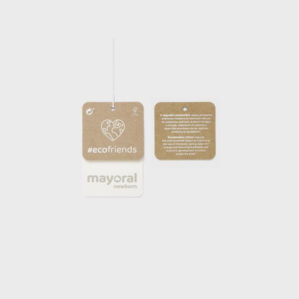 Φορμάκι με ρίγες και σαλιάρα Mayoral 2684-78