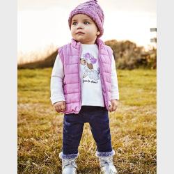 Mayoral Σετ κολάν γιλέκο Baby κορίτσι 02717-42