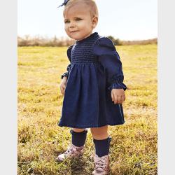 Mayoral Φόρεμα τζιν Baby κορίτσι 02922-5