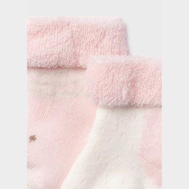 Καλτσάκια παιδικά σετ των τεσσάρων ροζ Mayoral 9421-83