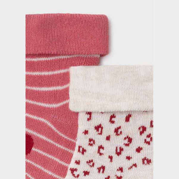 Καλτσάκια παιδικά σετ των τεσσάρων ροζ Mayoral 9426-84