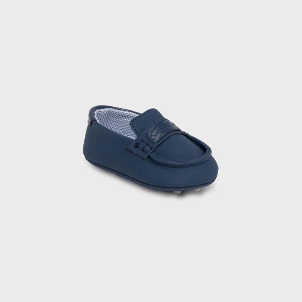 Παπούτσια αγκαλιάς μoκασίνια μπλέ Mayoral 9448-48
