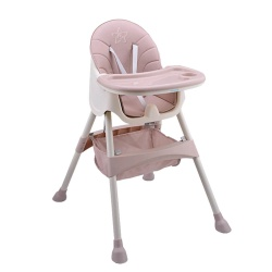 Bebe Stars Highchairs Cozy 2in1 Pink 893-185
