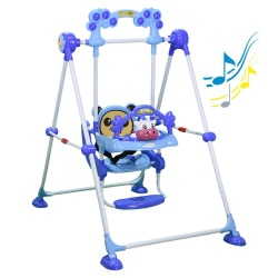 Bebe Stars Baby Swing Cow Blue 021-181
