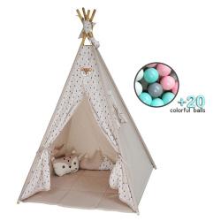 Bebe Stars Kid's tent Fox with balls 302-182