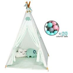 Bebe Stars Kid's tent Elephant with balls 302-184