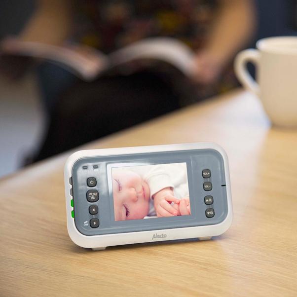Alecto Video Baby Monitor Με Οθόνη 2.8 Ιντσών DVM-76